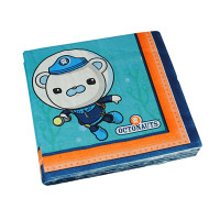 OCTONAUTS LUNCH NAPKIN PK16