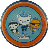 """The Octonauts are a crew of eight adorable animals who explore the ocean in search of adventure and fun! From their undersea """"Octopod"""" base, the eight talented critters (including a valiant polar bear, daredevil kitten, and big-hearted penguin) are always ready to embark on new exciting missions. Complete your The Octonauts themed party or special event with these The Octonauts party plates."""