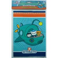 Octonauts Lootbags, Plastic (22cm High x 16.5cm Wide) - Pack of 8