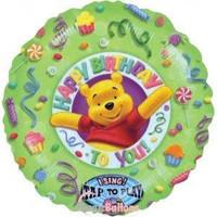 "Winnie Singing 28 "" Foil Balloon"