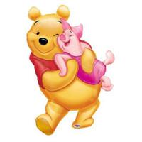 """Winnie Super Shape Foil Balloon 20"""" X 32"""""""