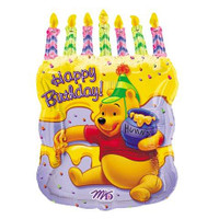 "Winnie Super Shape 18"" x 12"" Foil Balloon"