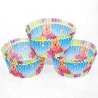 Winnie Cupcakes Colourful PK 50