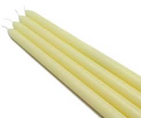 Ivory Taper Candle