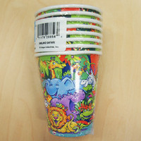 Smiling Safari Cups Paper 270ml - Pack of 8 270ml -