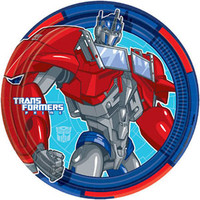 Transformers Plate (23cm) Paper - Pack of 8
