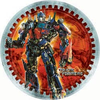 Transformers Plate (23cm) Paper Pack of 8
