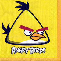 Luncheon Napkins Angry Birds (33cm x 33cm) 2 Ply - Pack of 16