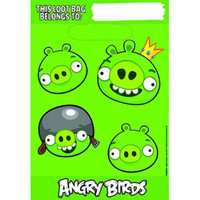 Angry Birds Loot Bags 8 pcs