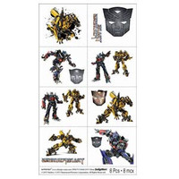 Tattoo Sheets Transformers 3 Contains 8 different designs. 16 pack