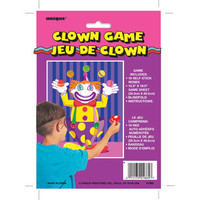 STICK NOSE ON CLOWN BLINDFOLD GAME