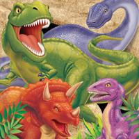 Dino Blast Invitation, Gatefold Diecut - Pack of 8