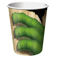 Dino Blast Cups, Hot/Cold (266ml) Paper - Pack of 8