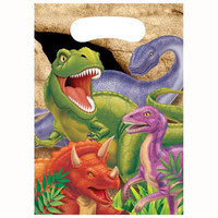 Dino Blast Loot Bag (16cm x 22cm) - Pack of 8