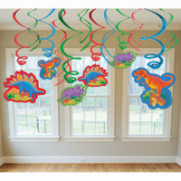 Hanging Swirls Dinosaur Value Pack With Cutouts
