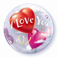 I Love You Balloon Bubble Heart
