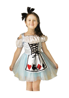 Alice In Wonderland Girls Costume see sizes