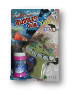 Army Tank Bubble Gun