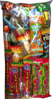 Pinata Lollies Wrapped 50 pcs