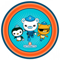 Octonauts Party Plates Pk 8