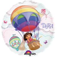 66cm Dora The Explorer See-Thru Balloon