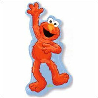 Elmo Waving Supershape Foil Balloon