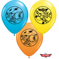Disney Planes Latex Balloons (22cms) - Pack of 6