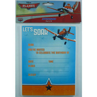 Disney Planes Invitations - Pack of 8