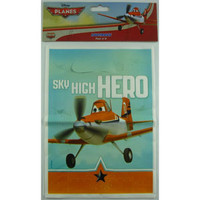 Disney Planes Lootbag (22cm High x 16.5 Wide) - Pack of 8