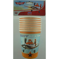 Disney Planes Paper Cups (266ml) - Pack of 8