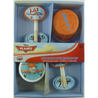 Disney Planes Cupcake Decorating Kit Contains 24 Cupcake cases measuring 6.35cm in diameter and 24 Cupcake toppers -