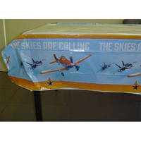 Disney Planes Tablecover, Plastic (1.8 Metres Long x 1.3 Metres Wide) -