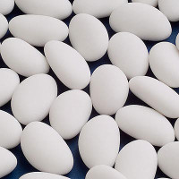 Sugar Coated Almonds White 500 gm