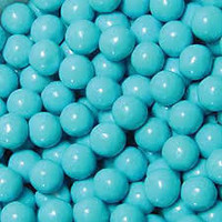 Blue Sixlet Lollies