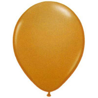 12cm Fashion Mocha Brown Latex Balloon - Pack of 100