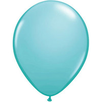 12cm Fashion Caribbean Blue Latex Balloon