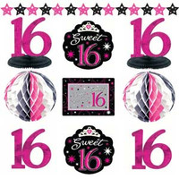 Decorating Kit Sweet 16 Sparkle - Each
