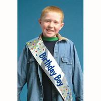 Sash, Foil Birthday Boy