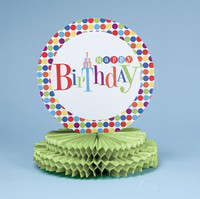 Let's Have A Party! Centerpiece, Honeycomb Shaped