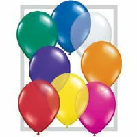 12cm Jewel Assorted Latex Balloon
