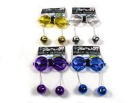 Disco Ball Party Glasses Purple