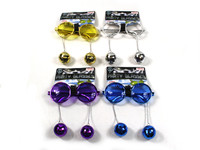Disco Ball Party Glasses Blue