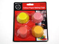 Coloured Mini Cupcake Baking Cups pk100