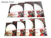 Round White Doilies 21.5cm Pk36
