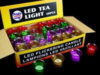 LED Tea Light Candle Red
