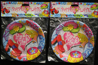 Party Girl Party Plates Pk10