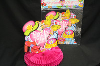 Party Girl Honeycomb Centrepiece