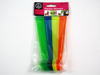 Coloured Plastic Stirrers Pk24