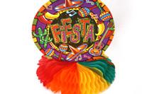 Fiesta Tissue Honeycomb Centrepiece