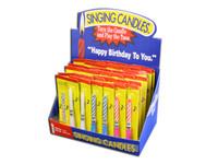 Singing Birthday Candle